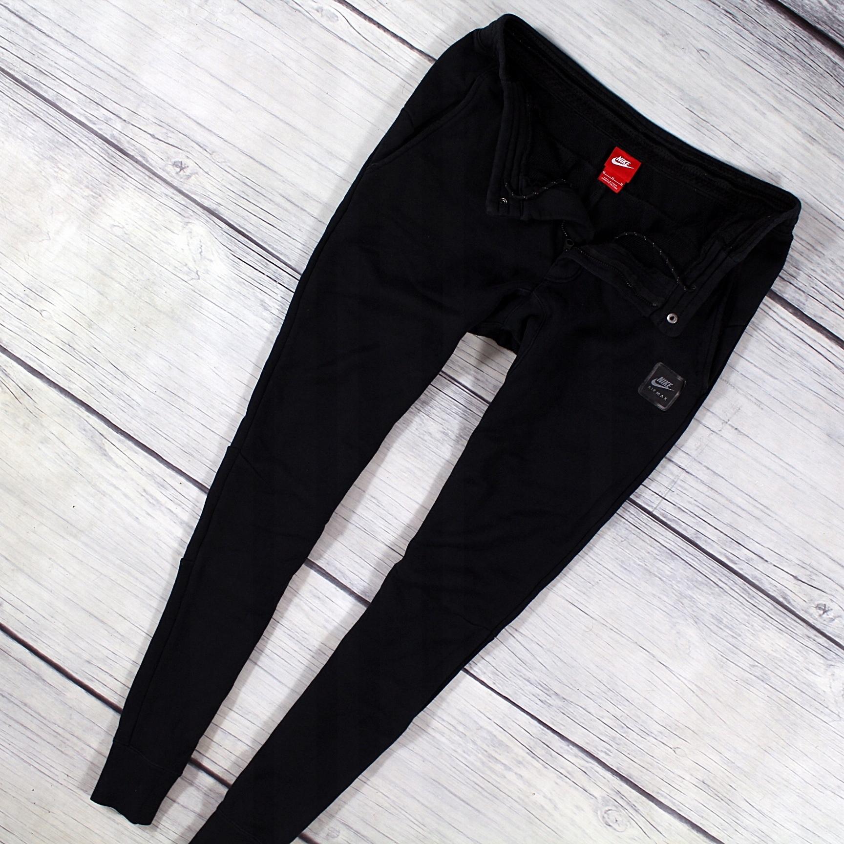 9ad9ec013 NIKE AIR MAX Spodnie Dresowe Slim Fit NOWY MODEL M - 7577007172 ...