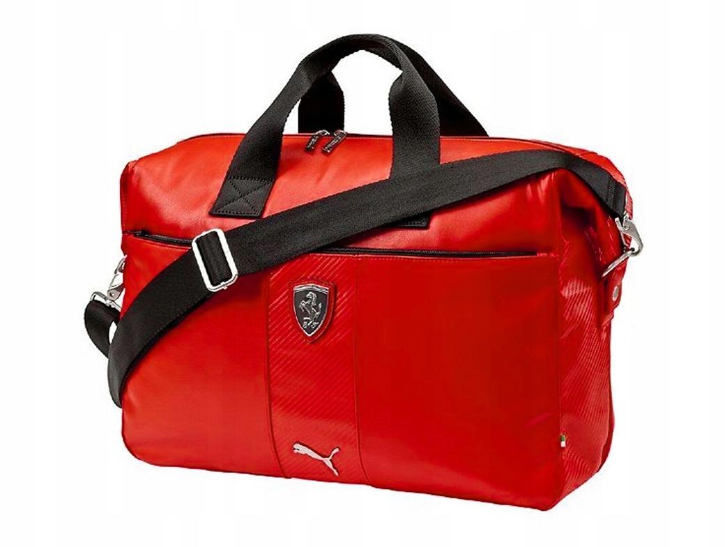 najlepsze ceny nowa wysoka jakość zamówienie online Torba sportowa Puma 073157-02 Czerwona, Ferrari - 7521234910 ...