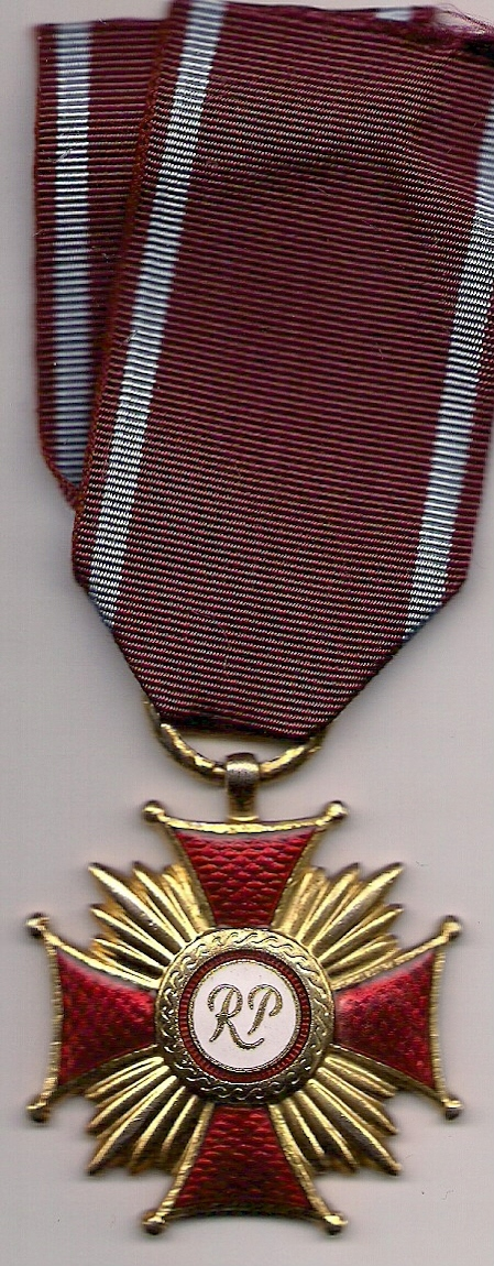 Złoty krzyż zasługi III RP