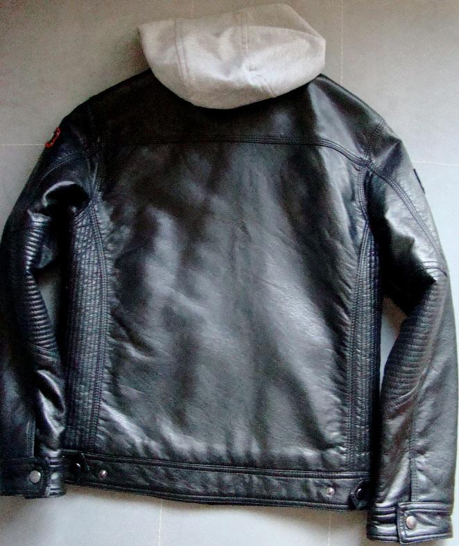 9dc1cd0566fd C A kurtka motocyklowa eko skóra 152 - 7212238674 - oficjalne archiwum  allegro
