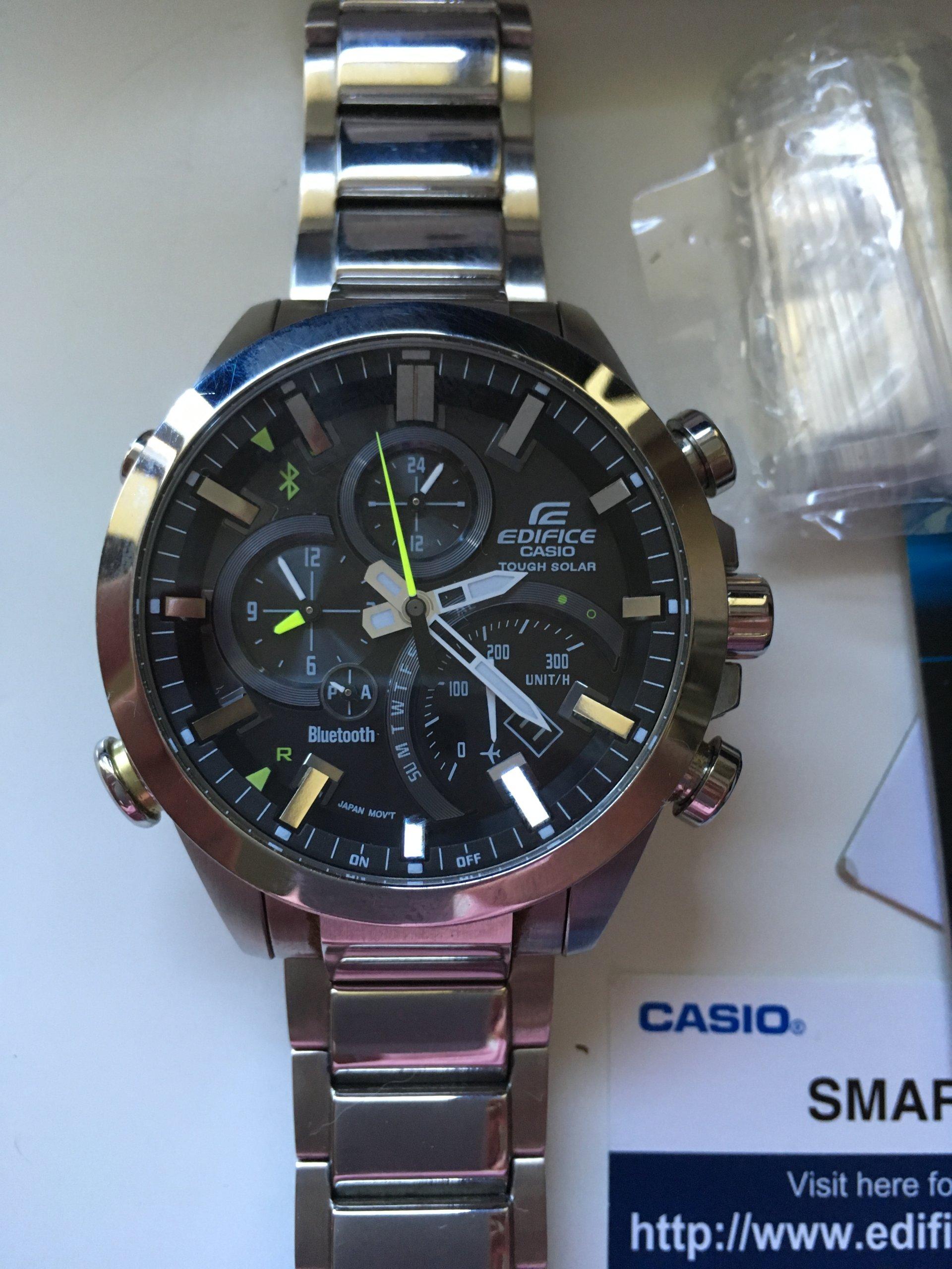 Casio Edifice Eqb 500 7299971014 Oficjalne Archiwum Allegro