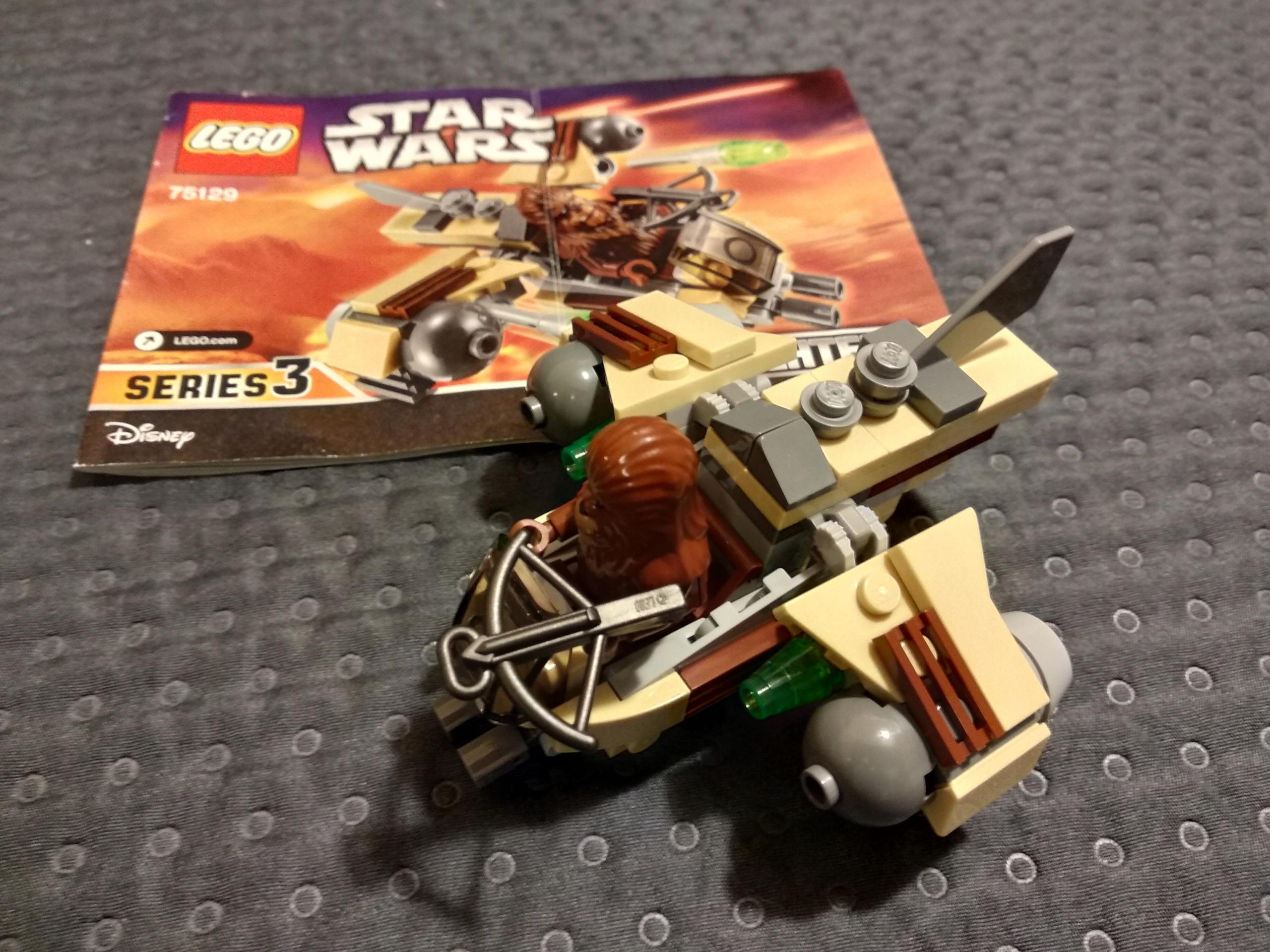 Lego Star Wars 75129 Okręt Bojowy Wookiee Bdb 7685336586