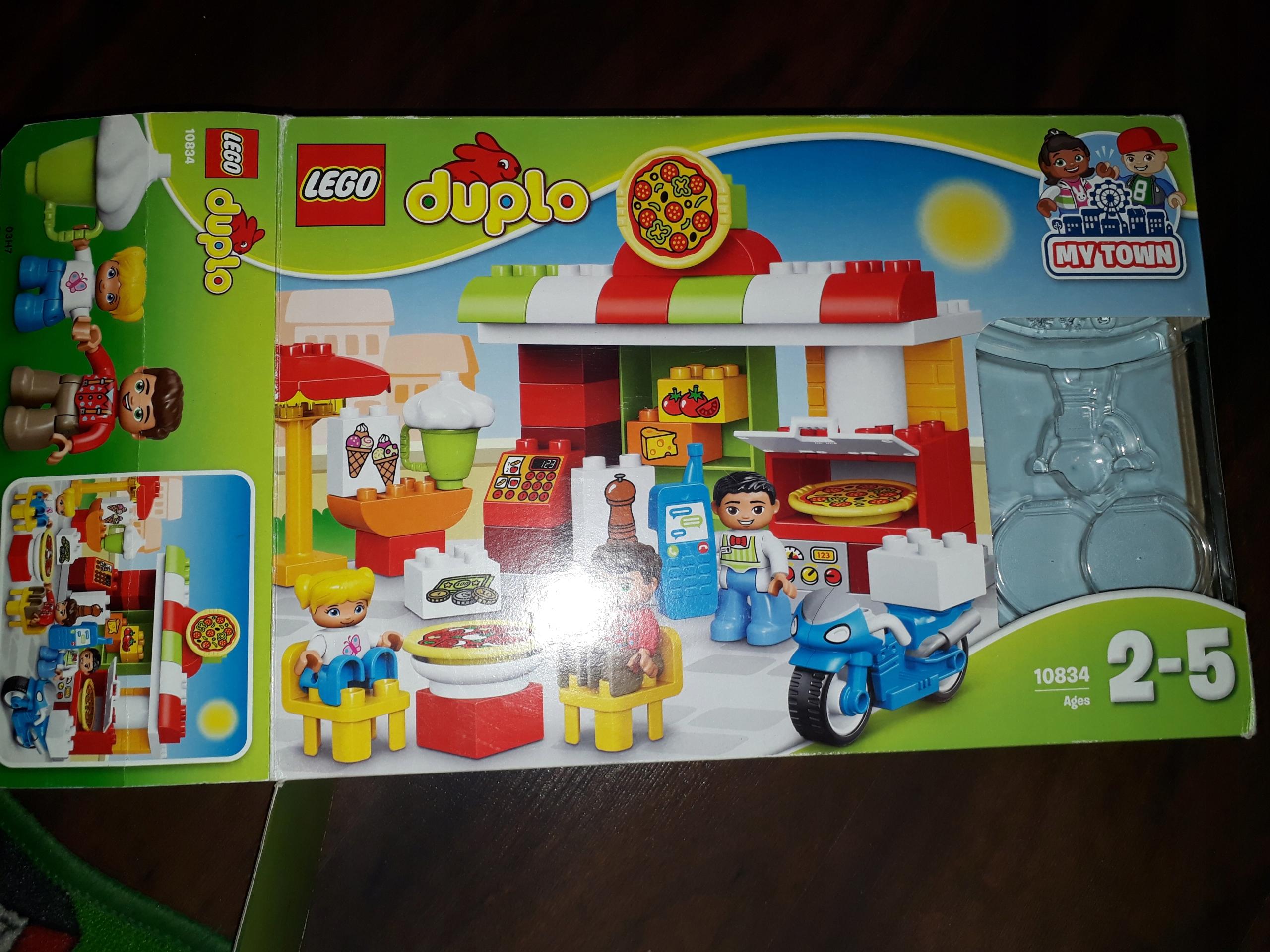 Klocki Lego Duplo Pizzeria 10834 7675862874 Oficjalne Archiwum