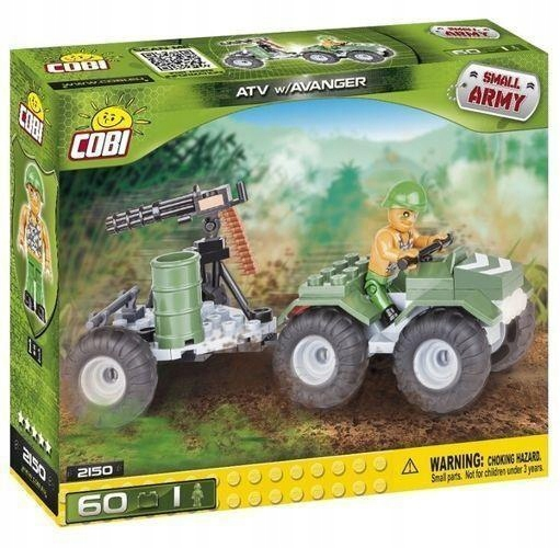 SMALL ARMY ATV W/AVANGER 60 KL., COBI