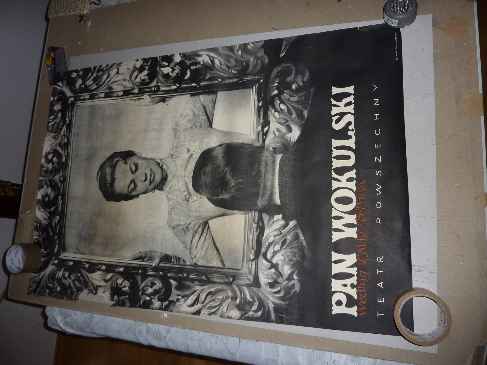 Plakat Pan Wokulski Wg Lalki Prusa 7173846695 Oficjalne