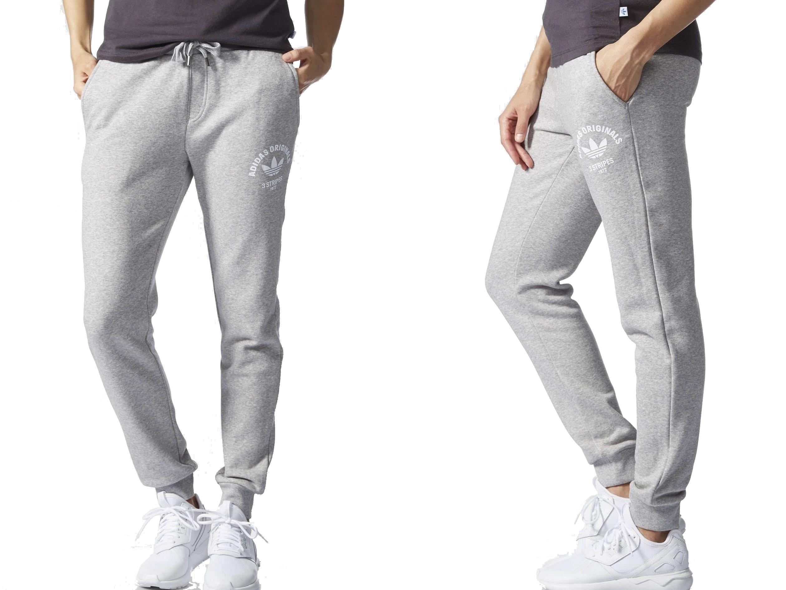 Adidas REGULAR CUFFED (42XL) Spodnie Damskie 7093344051