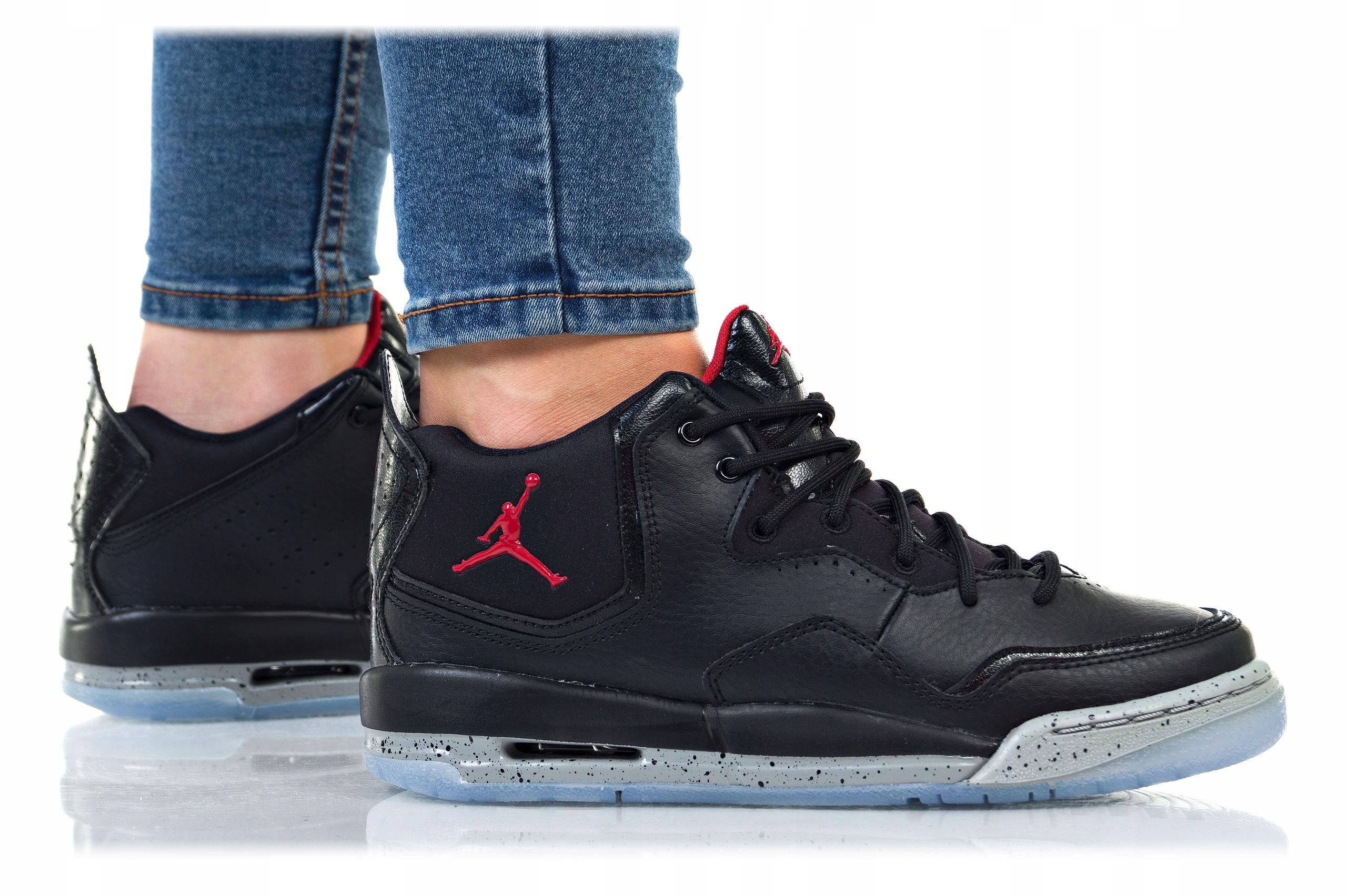sports shoes 35271 f846d BUTY NIKE JORDAN COURTSIDE 23 GS AR1002-023 CZARNE 7578116676 - Allegro.pl