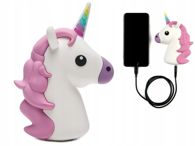 Item Unicorn POWER BANK WHITE Charger Battery