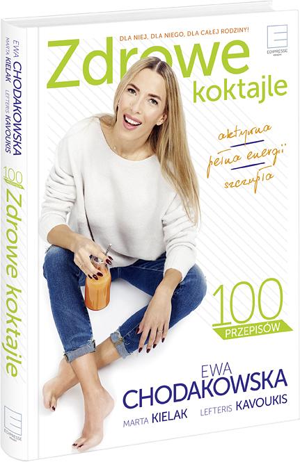 """""""Zdrowe koktajle"""", Ewa Chodakowska – recenzja"""