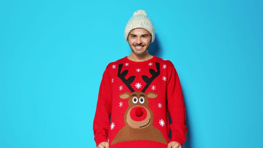 Świąteczny sweterek – stylizacje na pierwszy dzień świąt