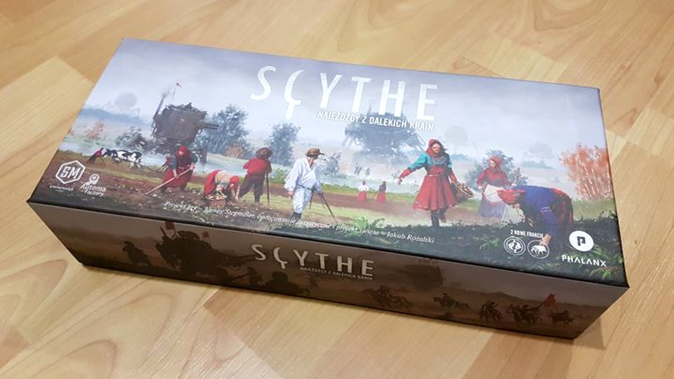 """Scythe: Najeźdźcy z Dalekich Krain"" – recenzja gry"