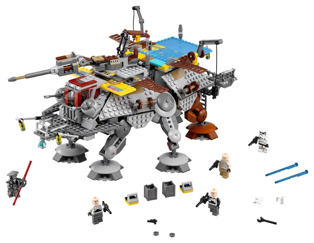 Klocki LEGO Star Wars AT-TE kapitana Rexa 75157