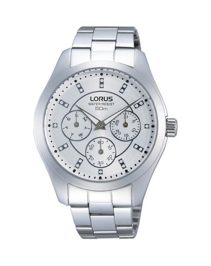 Zegarek damski LORUS LOR RP671BX9 srebrny