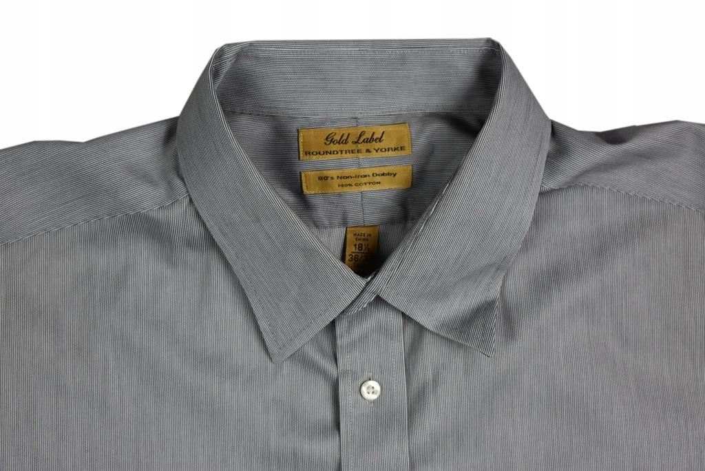 Duża Koszula Gold Label z USA 4XL 154cm K329 7669507004  kVrjf