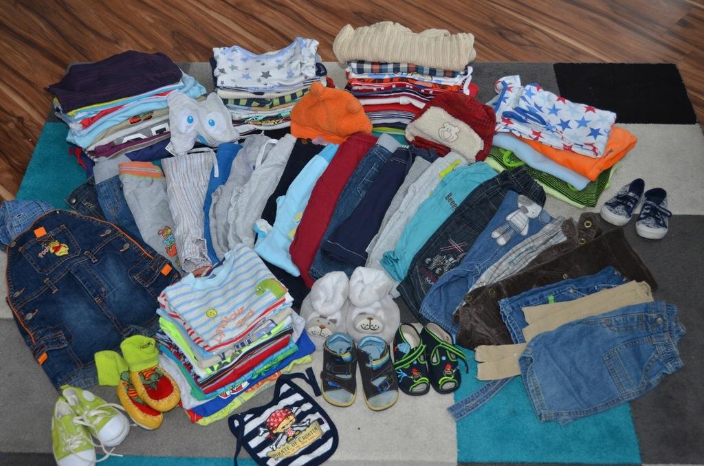 Mega paka ubranek dla chłopca 3-12 miesięcy