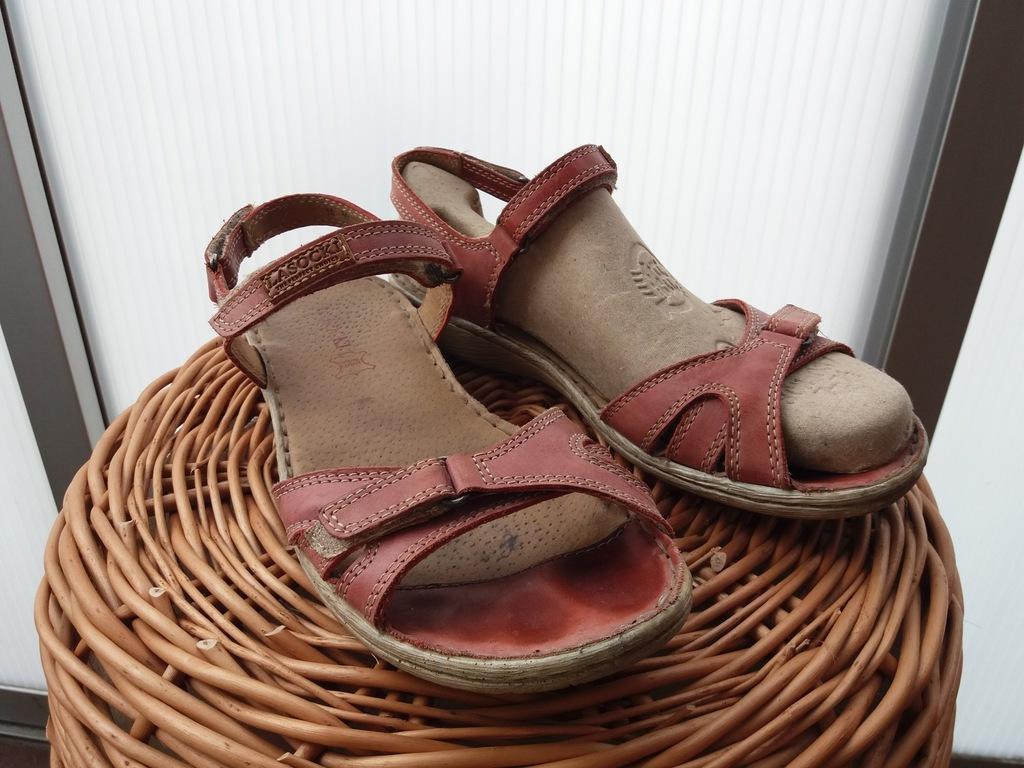 Sandały Lasocki skóra 37