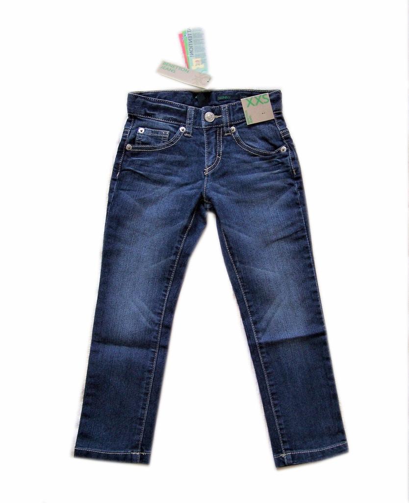 BENETTON jeansy dziewczęce na 100 cm LA17