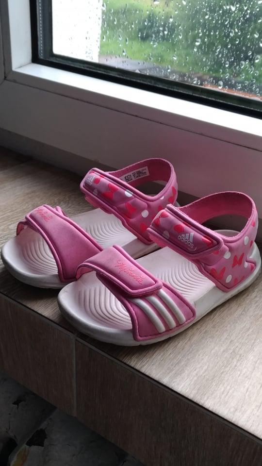 sandały adidas by minnie rozmiar 25 16 cm