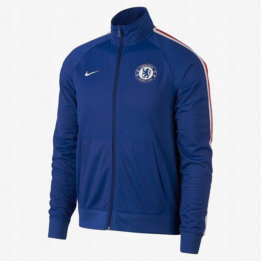 Bluza Męska Nike Chelsea FC kieszenie niebiesk L
