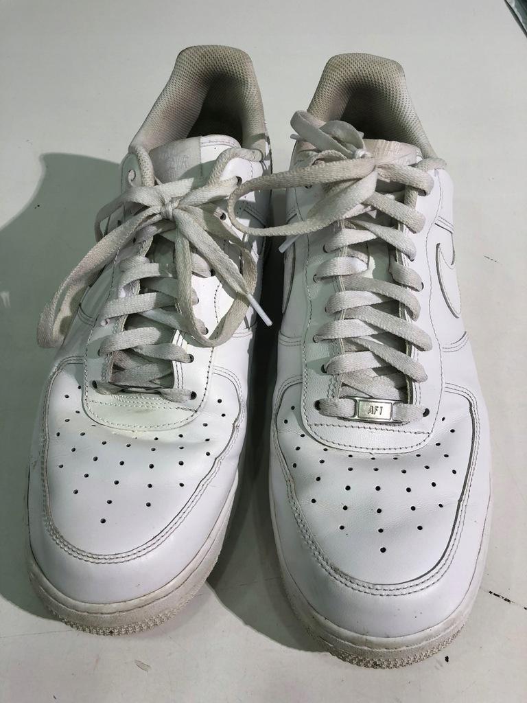 Buty Nike Air Force 1 '07 R. 46 UŻYWANE