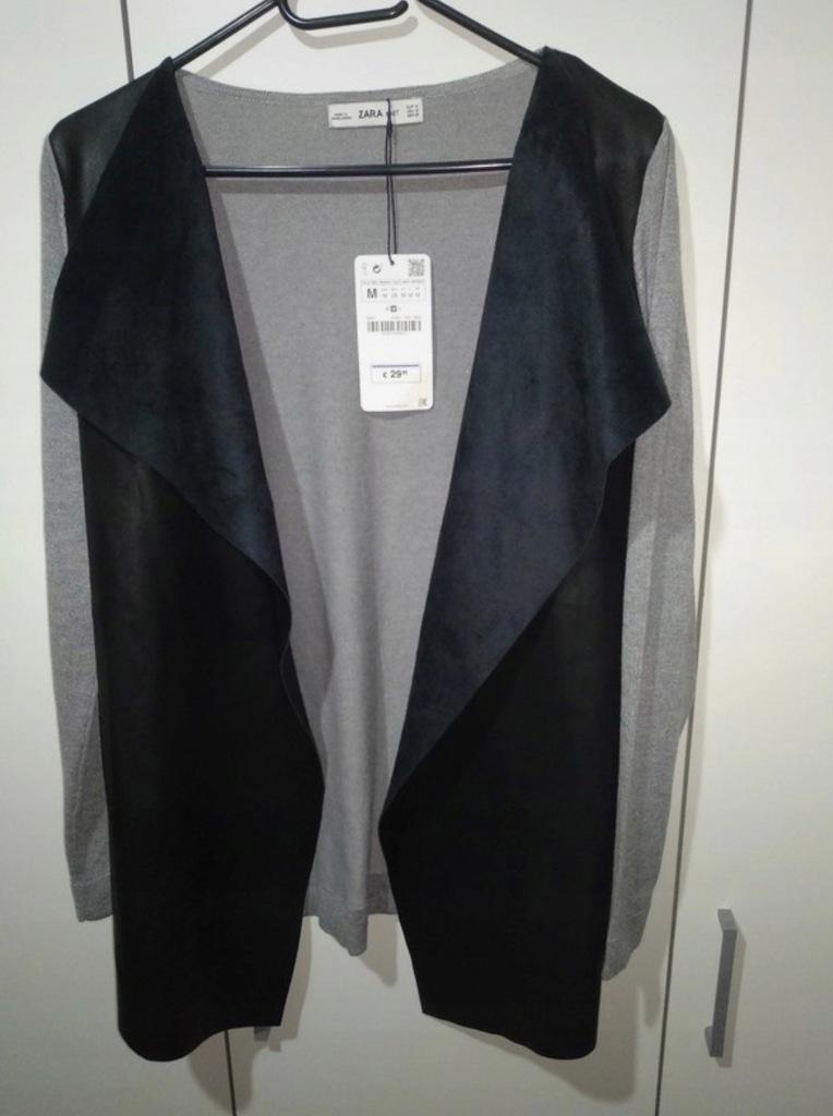 Kardigan Narzutka Sweterek Zara rozmiar M