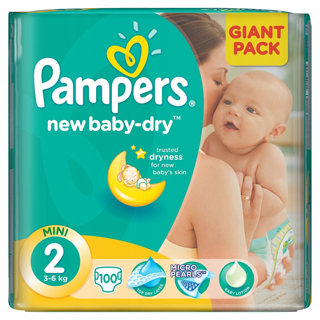 Unterschied Pampers Baby Dry New Baby