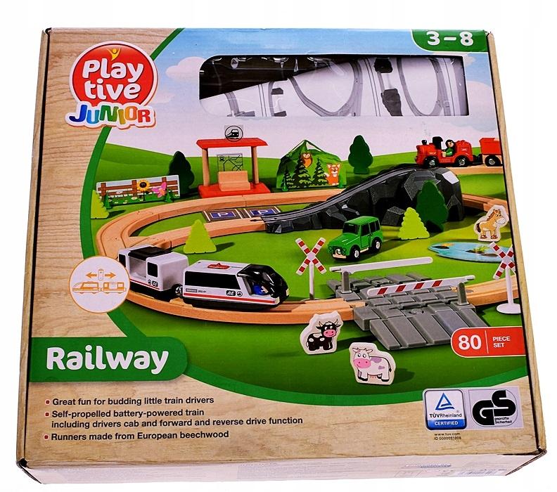 5865 24 Play Tive Junior Railway Tor Farma 7782106767 Oficjalne Archiwum Allegro