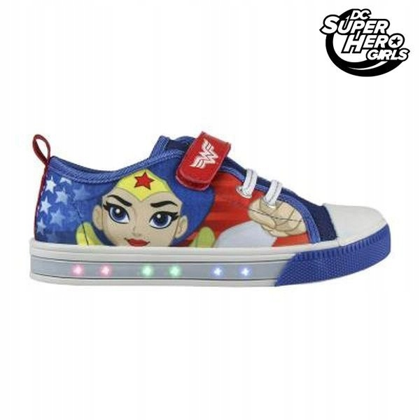 Buty sportowe Casual z LED DC Super Hero Girls 405