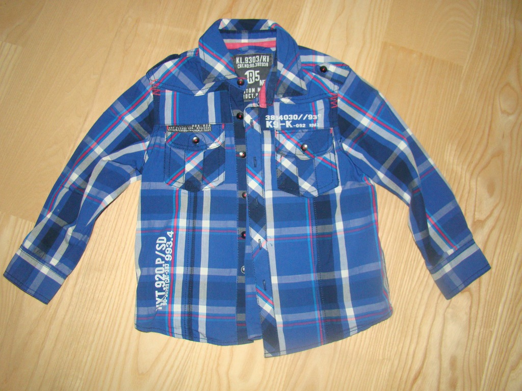 E03 Levi's Gap 2 koszule dla chłopca 5 6 lat