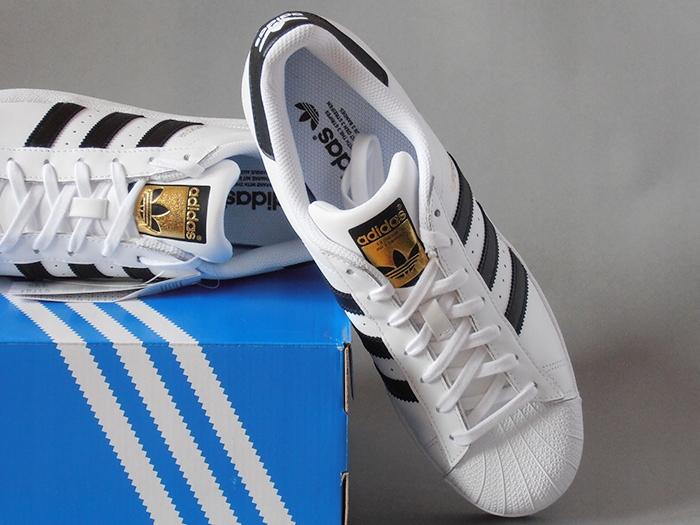 buty adidas superstar j aq6278 białe 41