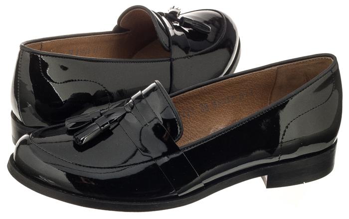 półbuty damskie lakierki sandały