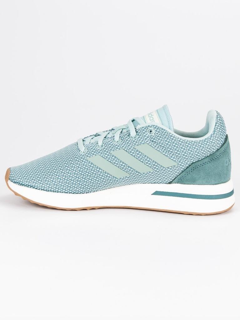 ADIDAS RUN70S (B96561) Damskie | cena 143,99 PLN, kolor ZIELONY | Buty lifestyle adidas