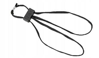 ESP - Kajdanki Tekstylne - Czarny - HT-01-B