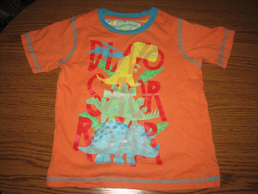 TU bluzka w dinozaury 104cm