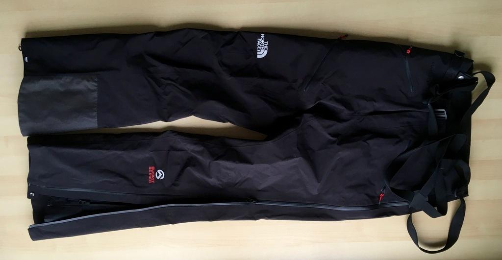 NOWE spodnie The North Face goretex PRO r.30