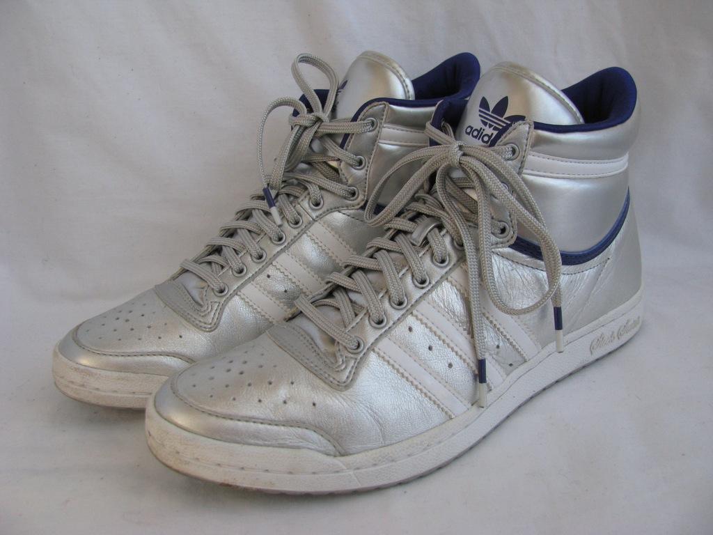 ADIDAS SLEEK SERIES srebrne buty 39 (25,5cm) skóra