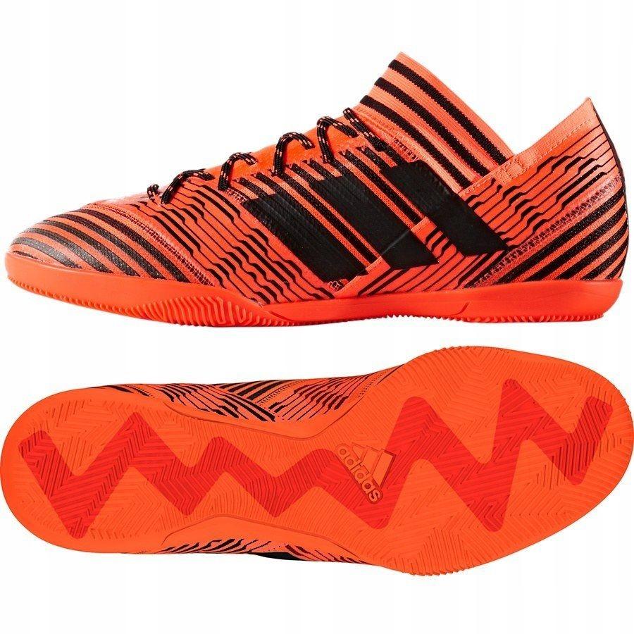 Buty piłkarskie halowe Nemeziz Tango 17.3 IN Adidas (różowe