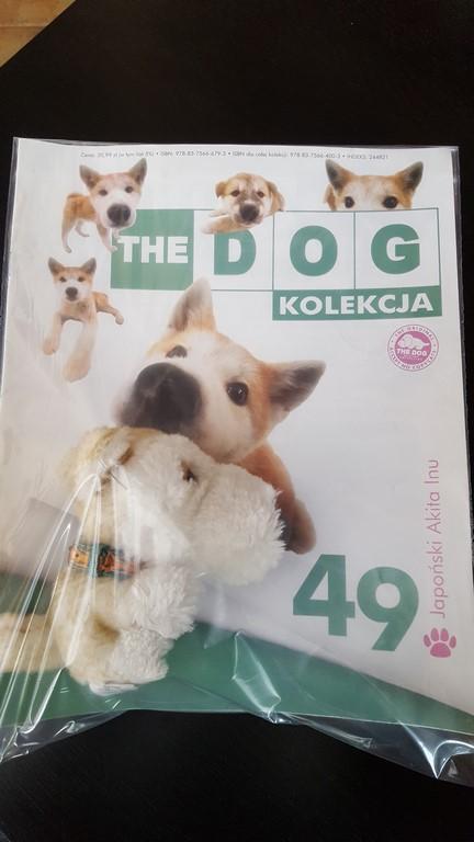 The Dog Kolekcja Piesek Gazetka The Dog Nr 49 7202147754 Oficjalne Archiwum Allegro