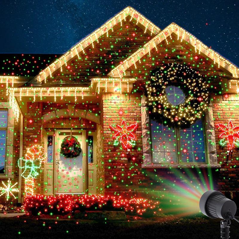 Star Shower Projektor Na Dom Swiateczny Pilot 7682990695 Oficjalne Archiwum Allegro