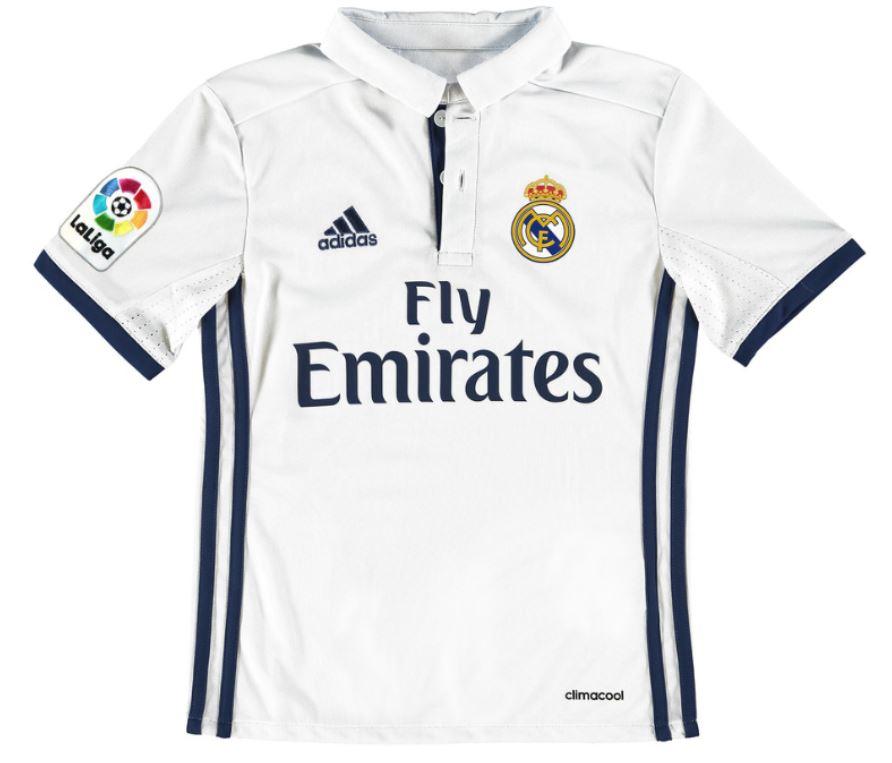 ADIDAS ClimaCool koszulka Real Madryt jr 201617