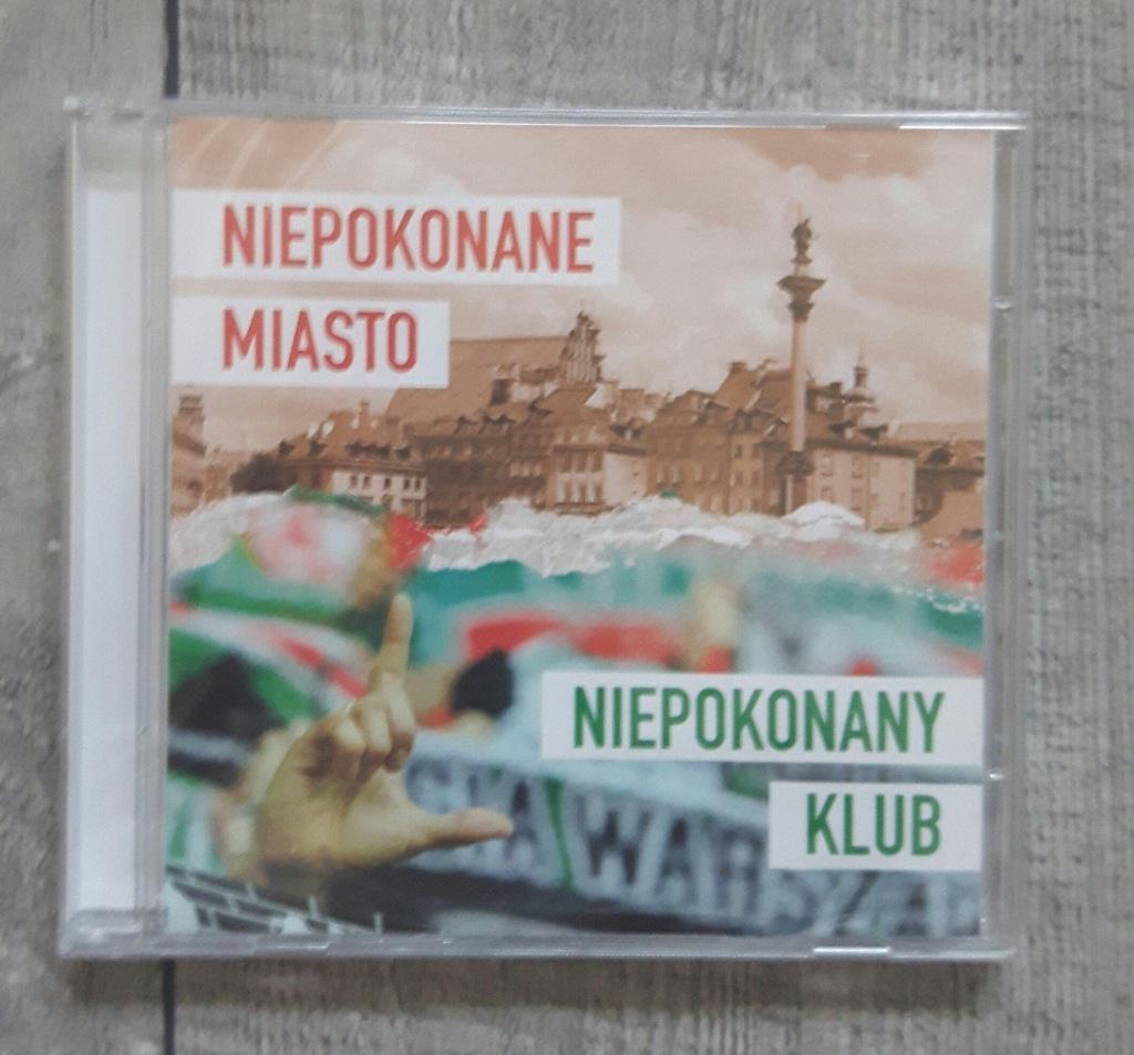 płyta CD 'Niepokonane miasto niepokonany klub'