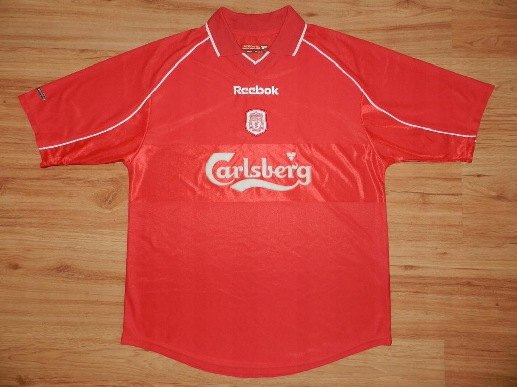 LIVERPOOL FC Reebok 2000/2002 HOME L _* OKAZJA * _
