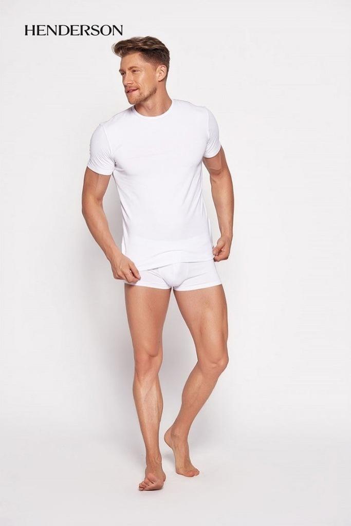 Koszulka Męska Model Bosco 18731 00X White