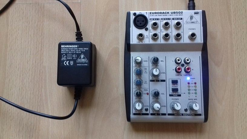 Mikser audio Behringer Eurorack UB 502