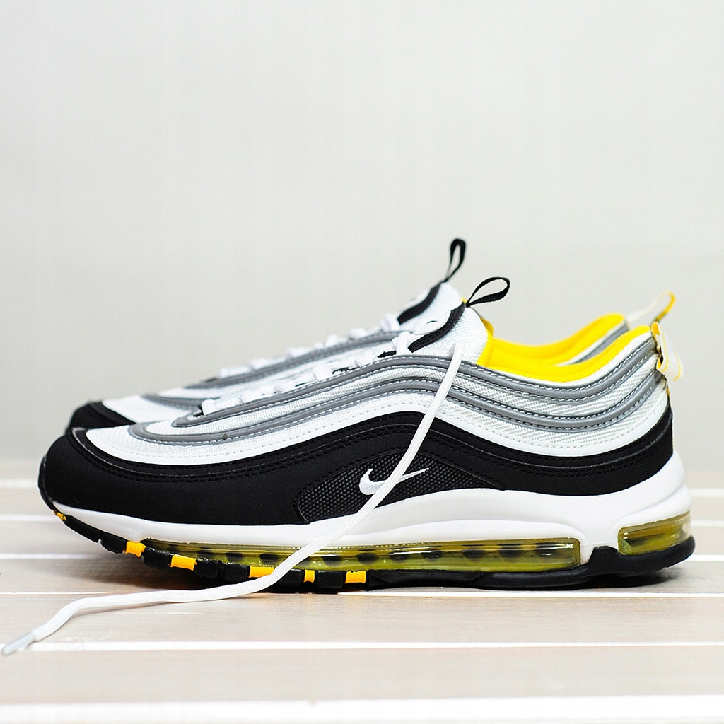 Nike Air Max 97 Black Yellow White r41