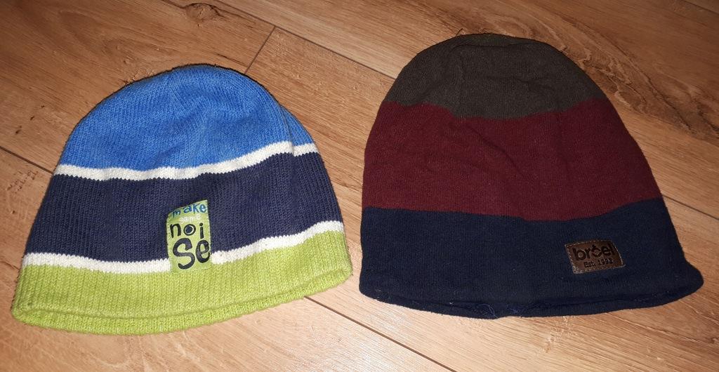 2 czapki Broel Coccodrillo J.nowe