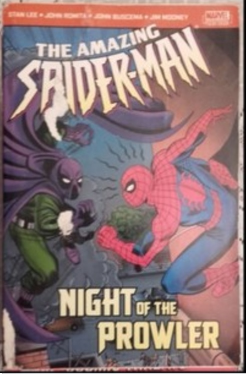 THE AMAZING SPIDER-MAN NIGHT OF THE PROWLER MARVEL