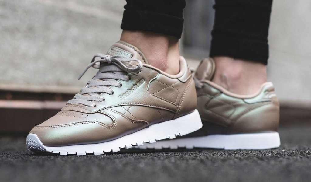 Reebok Classic Leather Pearlized Gold r 40,5 Skóra