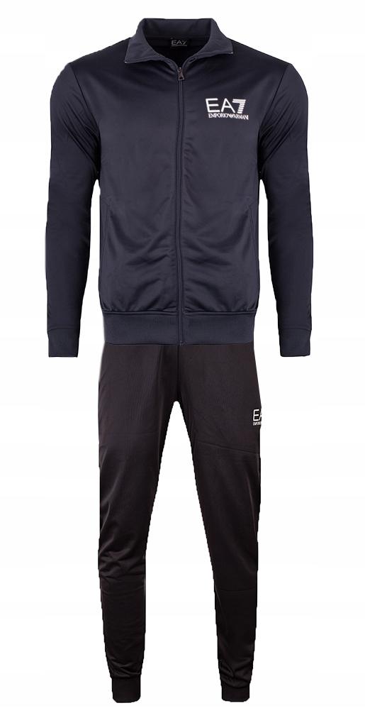 EMPORIO ARMANI EA7 markowy męski dres NOWOŚĆ XL