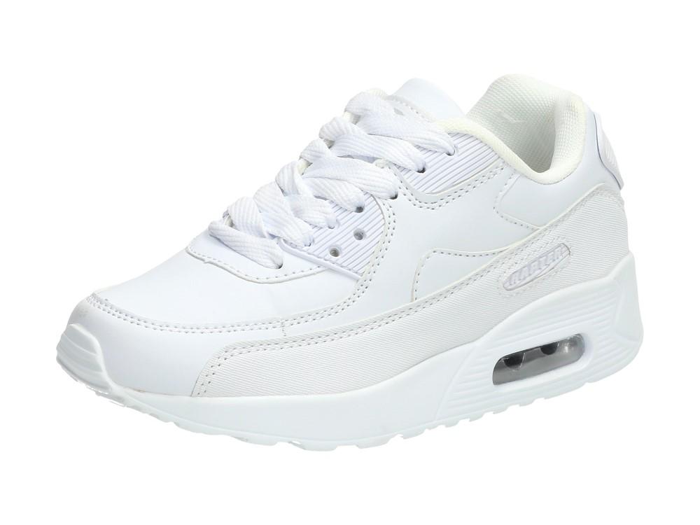 Sportowe buty dziecięce RAPTER B760 BIAŁE r34